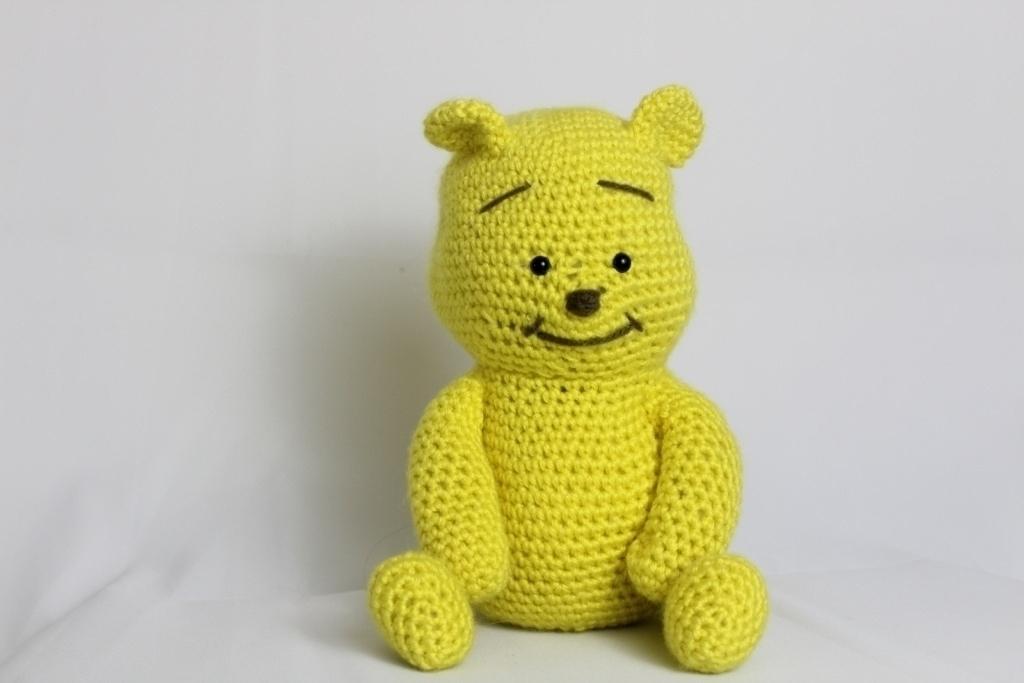 Free Crochet Pattern Bear Baby Cute Toy Amigurumi