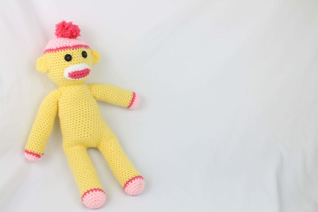 Free Crochet Pattern Sock Monkey
