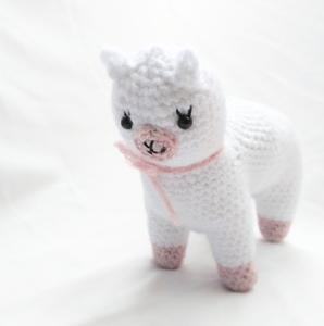 Free Alpaca Crochet Pattern Cute Amiugurmi Llama