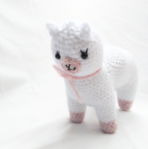 Free Crochet Llama Toy Pattern | The WHOot | 300x298