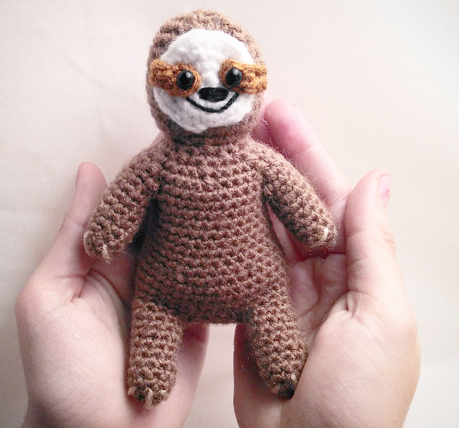Stella the Sloth Amigurumi Crochet Pattern - English, Dutch ... | 610x655