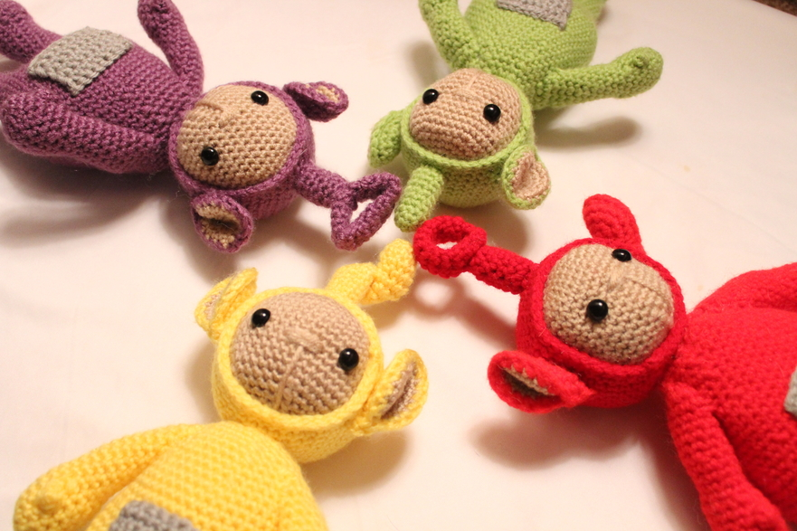 Teletubbies Free Crochet Patterns Amigurumi