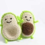 Avocado Food Friends Free Amigurumi Crochet Patterns