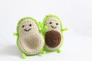 Free Avocado Food Friends Amigurumi Crochet Pattern