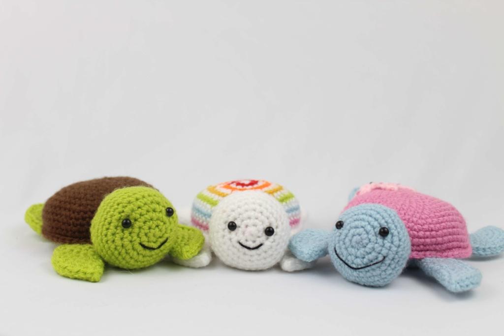 Turtle Amigurumi Free Crochet Pattern Stringydingding