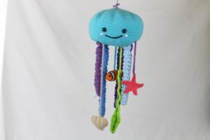 Free Crochet Pattern Baby Mobie Octopus Amigurumi Sea Life Cute