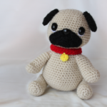 Free Crochet Pattern Pug Amigurumi Dog Cute Toy