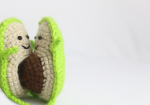 Avocado Keychain ,Crochet Keychain, Crochet avocado, avocado ... | 211x300