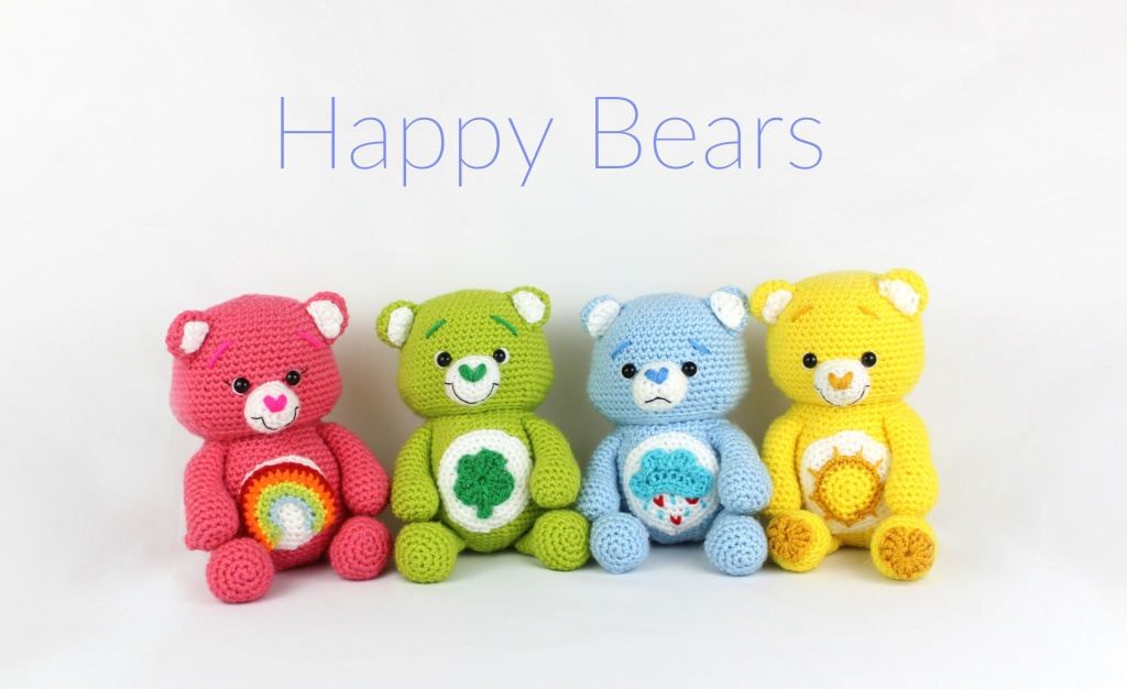 Crochet Teddy Bears Amigurumi Free Pattern – Free in 2020 ... | 626x1024