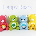 Happy Bears Free Amigurumi Crochet Pattern