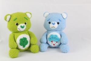Gothic Care Bear - CROCHET | 200x300