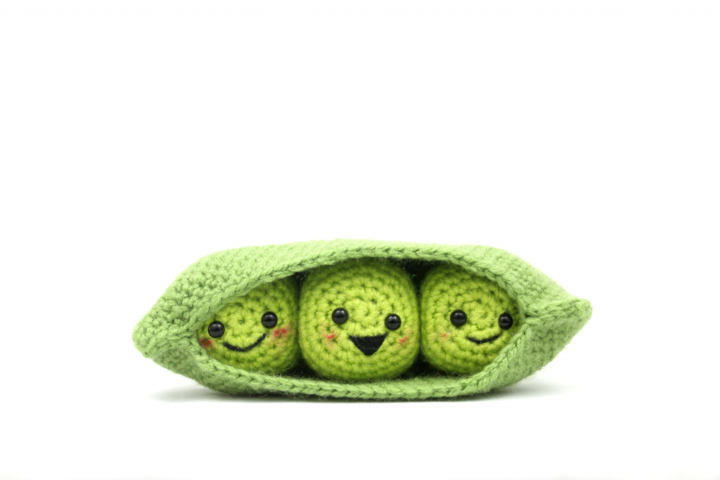 Peas in a Pod Free Amigrumi Crochet Patterns