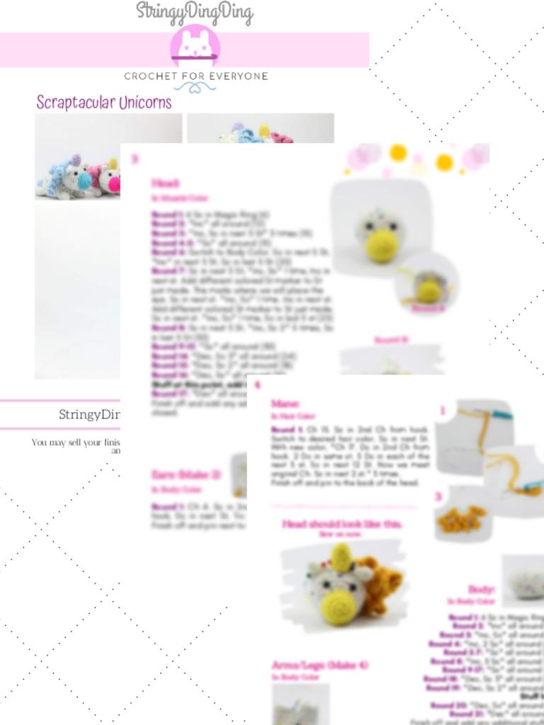 Crochet Amigurumi 10 | Amigurumi unicornio, Crochet amigurumi ... | 1024x768