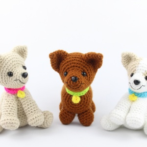 Free Chihuahua amigurumi crochet patterns