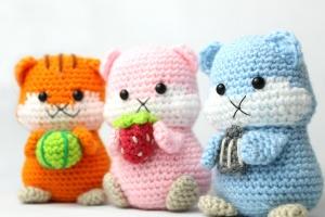 Hamster amigurumi PDF pattern