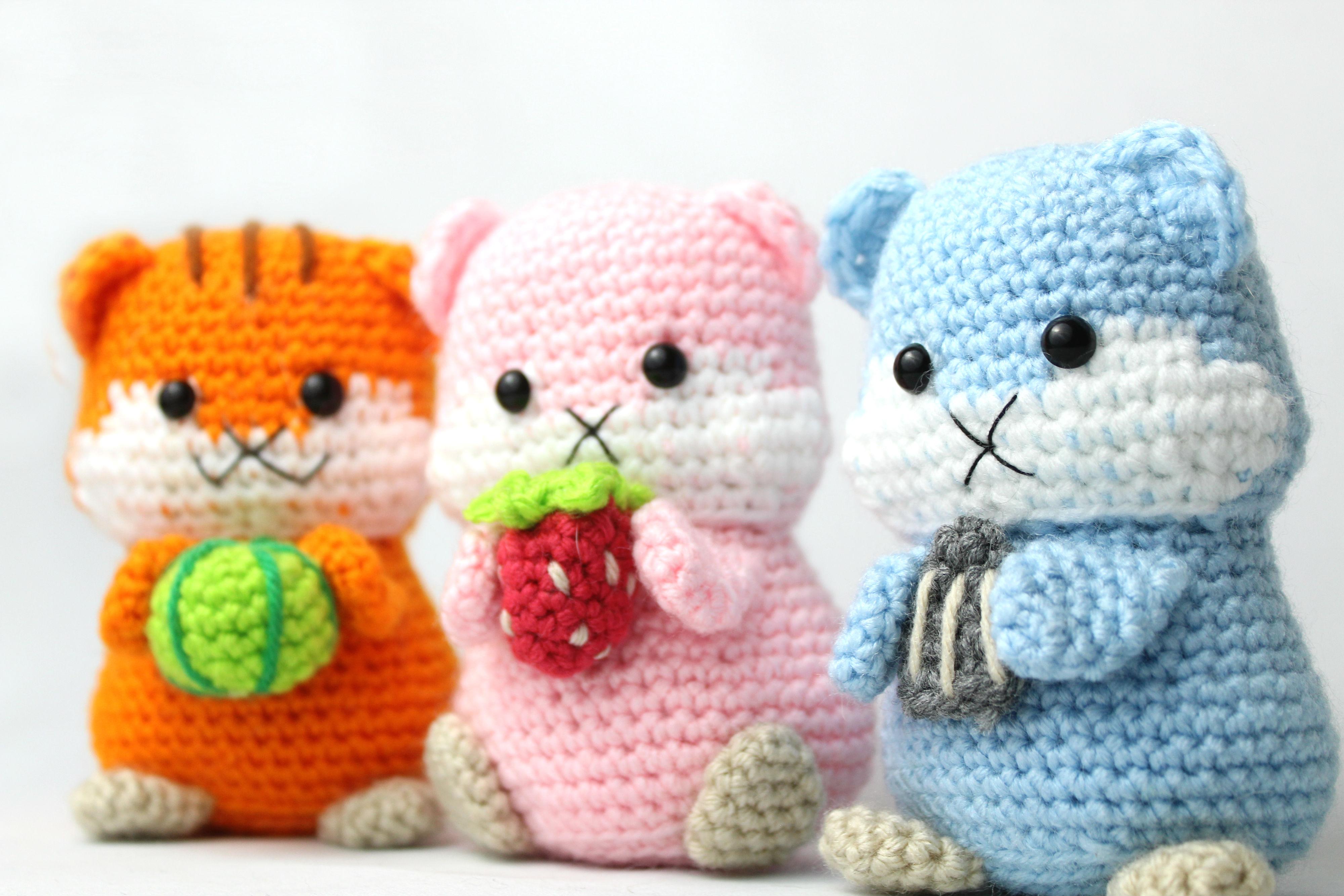 Toy Elephant Free Crochet Patterns | 2667x4000