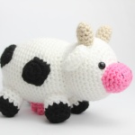 Free cow amigurumi crochet patterns cute