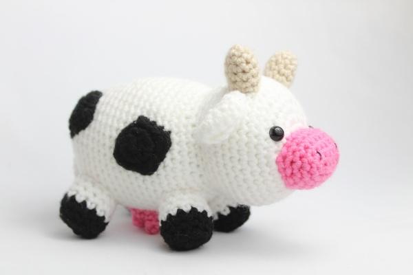 Free cow amigurumi crochet patterns cute