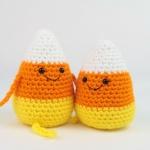 Candy Corn crochet free amigurumi pattern
