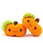 Pumpkin free amigurumi pattern crochet