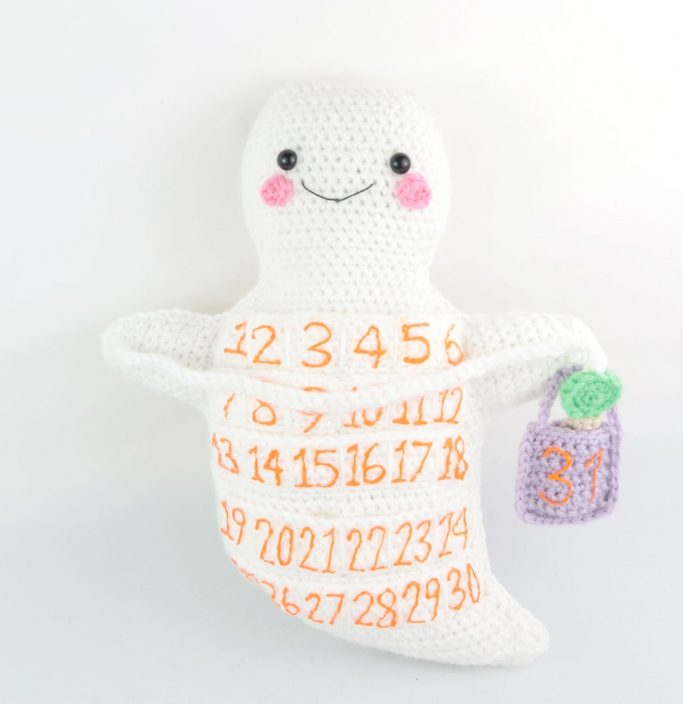 Halloween Ghost Free Crochet Pattern ⋆ Crochet Kingdom | 1024x993