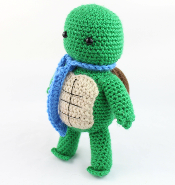 Best 10+ Crochet Bobble Stitch Turtle Amigurumi Free Patterns ... | 634x599