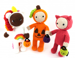 Halloween Costume Kids Free Amigurumi Pattern