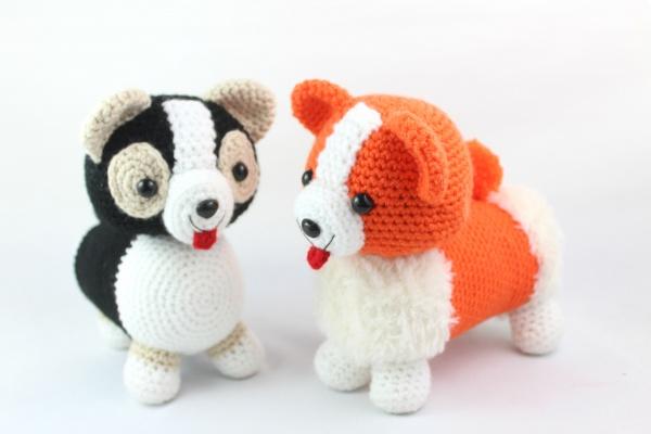 Free corgi amigurumi pattern dog crochet