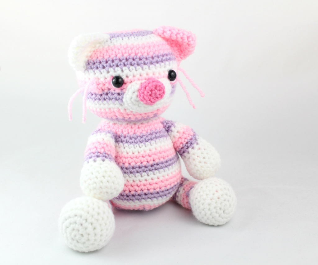 Ginger cat amigurumi pattern - Amigurumi Today | 854x1024