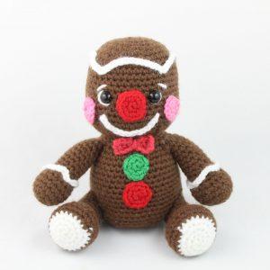 free amigurumi pattern christmas gingerbread man