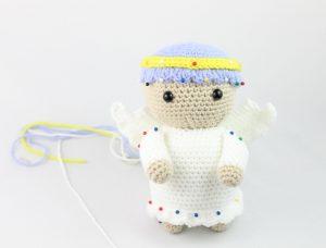 Lovely Angel crochet pattern - Amigurumi Today | 228x300