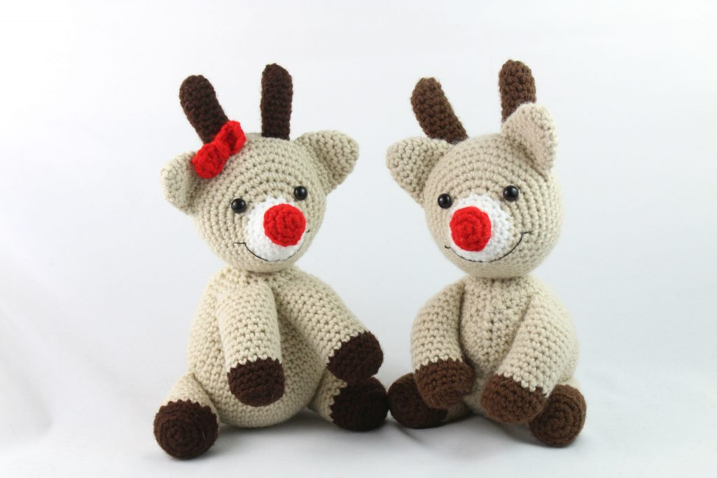 Reindeer crochet tutorial - YouTube | 683x1024