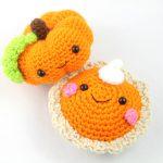 pumpkin pie amigurumi free pattern
