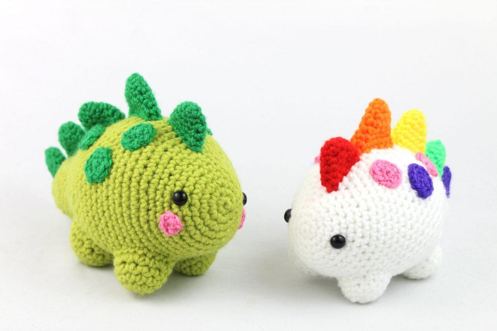 free amigurumi pattern dinosaur cute