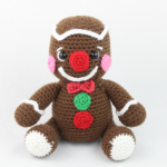 free amigurumi pattern christmas gingerbread man