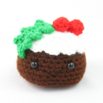 free amigurumi pattern christmas pudding food