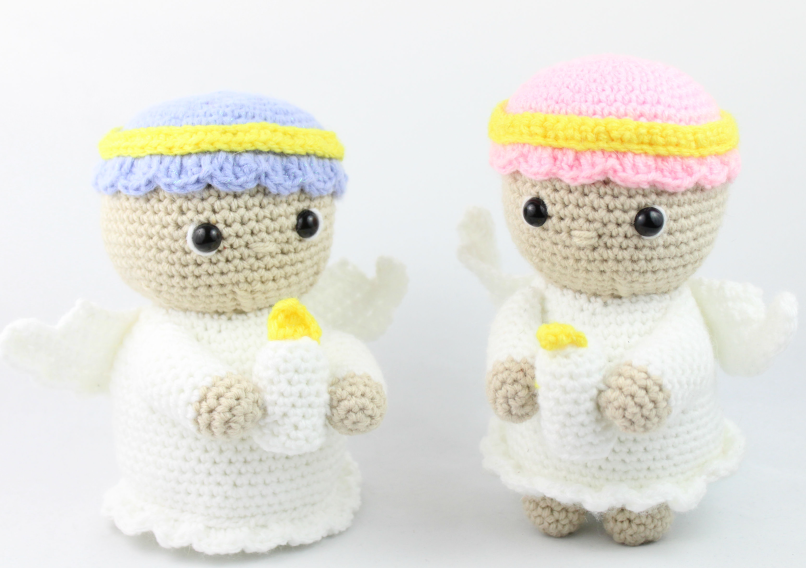 Christmas Angel Free Crochet Pattern • Oombawka Design Crochet | 568x806