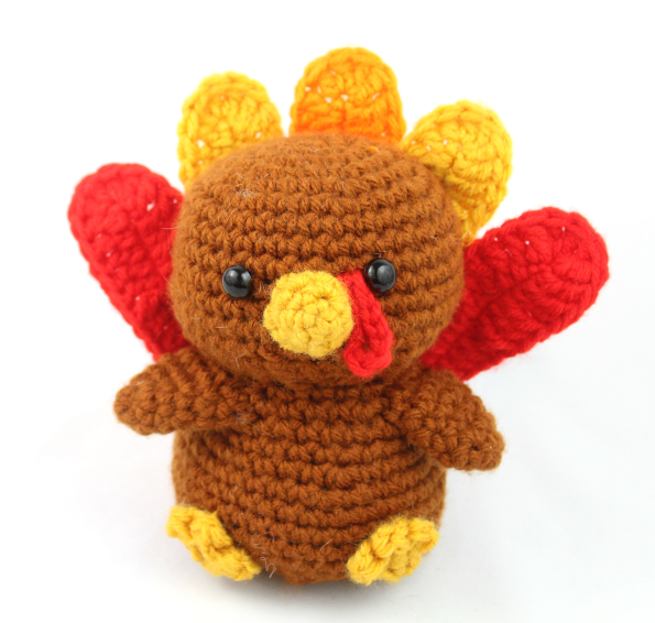 free turkey amigurumi pattern thanksgiving crochet