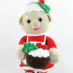 mrs claus free amigurumi pattern crochet christmas