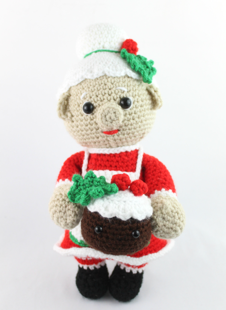 mrs claus free amigurumi pattern crochet christmas
