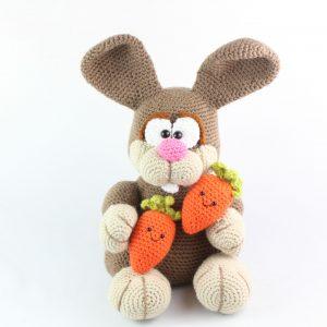 free amigurumi bunny rabbit crochet pattern