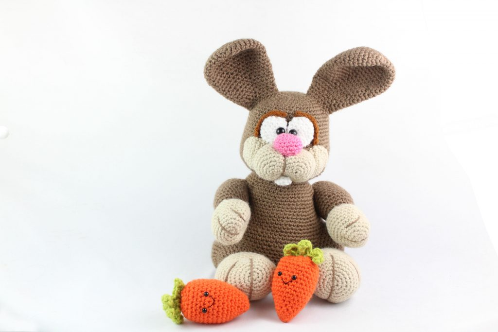 11 Crochet Bunny Patterns -Easter Fun - A More Crafty Life | 683x1024