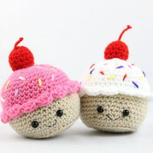 free amigurumi patterns food cupcake