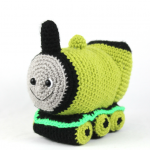free amigurumi pattern train
