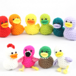 free amigurumi patterns duck cute