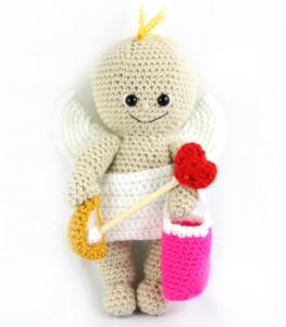 free cupid amigurumi pattern crochet doll