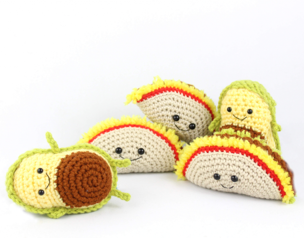 free amigurumi patterns taco