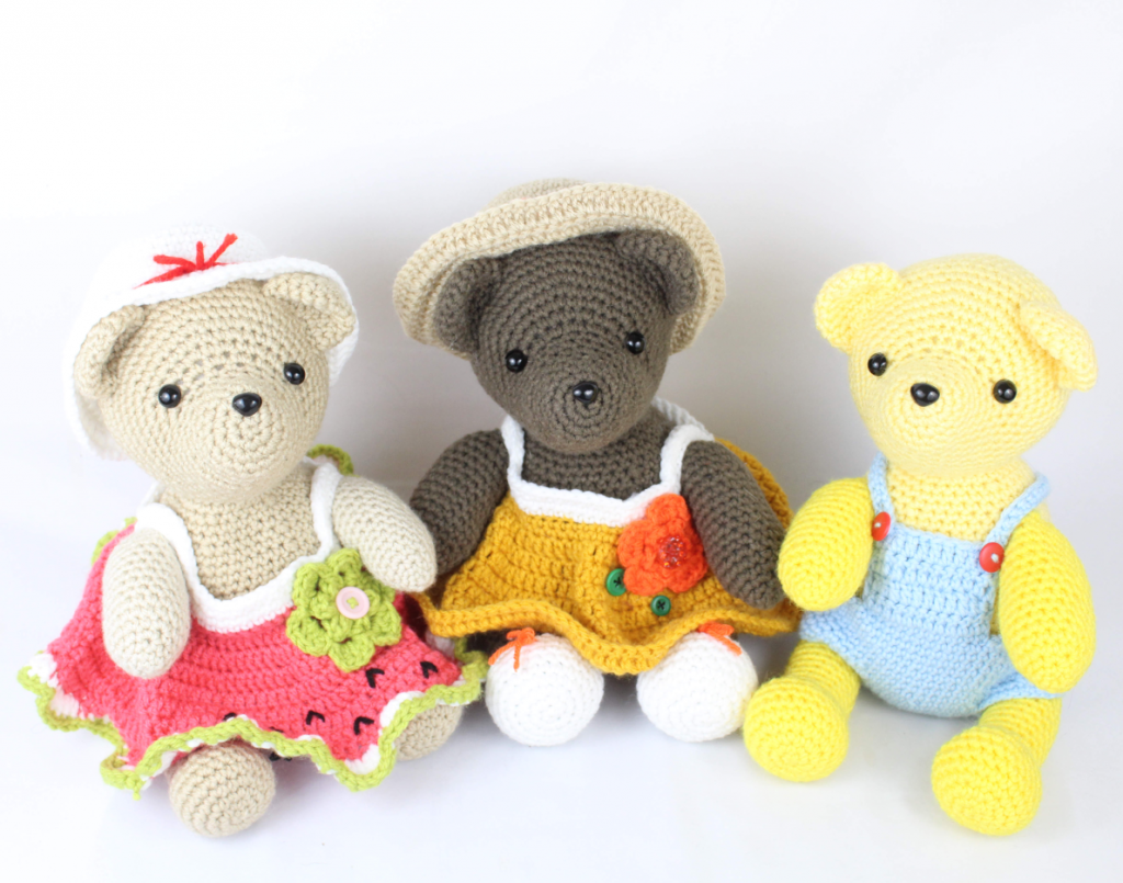 free amigurumi patterns bear