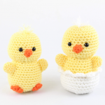 free amigurumi patterns easter chick