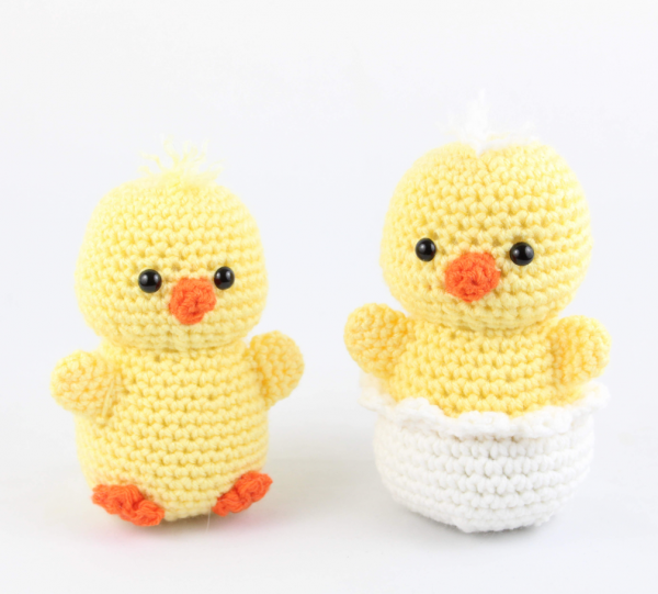 free amigurumi patterns easter chick
